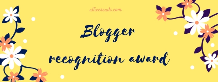 TAG: Blogger Recognition Award