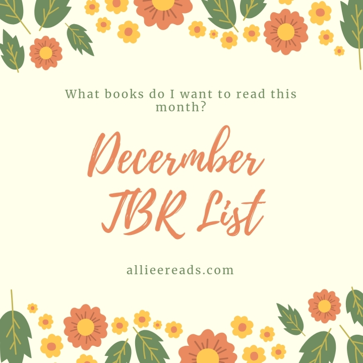 DECEMBER TBR: Looking Ahead
