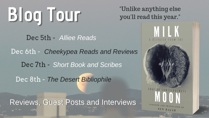 BLOG TOUR!! #REVIEW of Milk of the Moon by Sen Rajah #poetry
