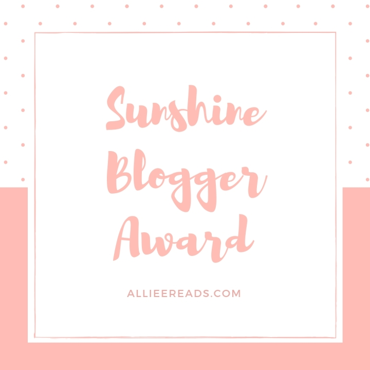 TAG: The Sunshine Blogger Award