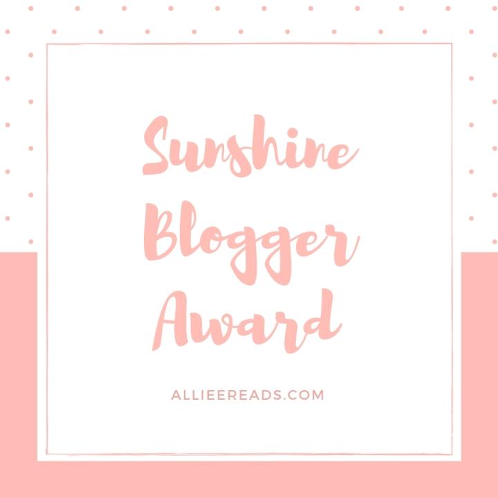 TAG: The Sunshine BloggerAward