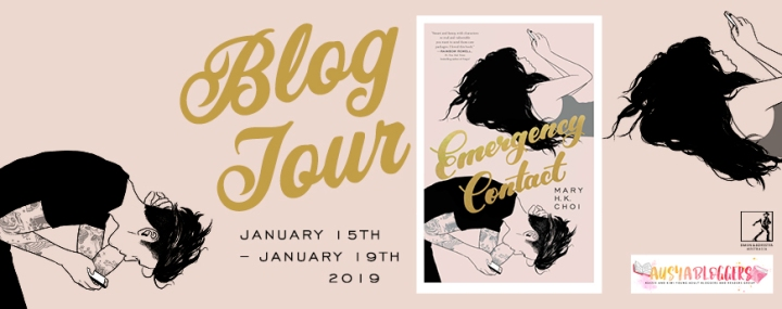 BLOG TOUR! YA FICTION REVIEW of Emergency Contact by Mary H.K.Cho