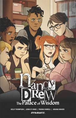 NEW COMIC BOOK #REVIEW of NANCY DREW: THE PALACE OF WISDOM by Kelly Thompson and Jenn St.Onge