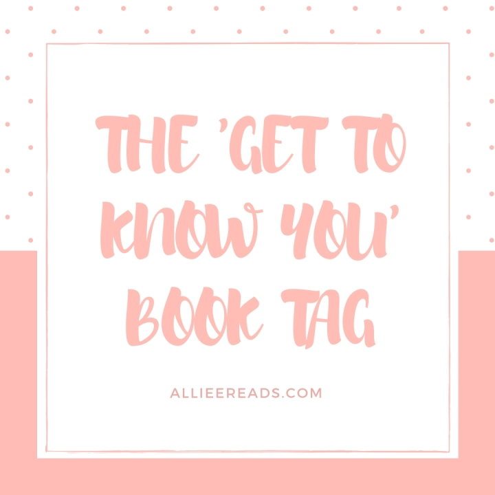 TAG: THE 'GET TO KNOW YA' BOOK TAG