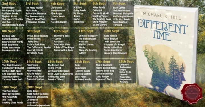 #ULTIMATEBLOGTOUR REVIEW! A DIFFERENT TIME by Michael K. Hill