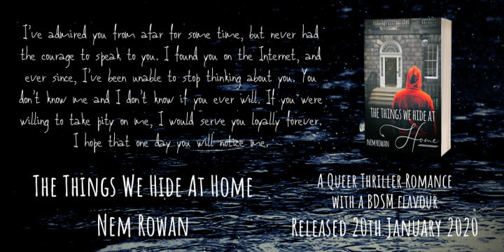 RELEASE BLITZ DAY: The Things We Hide At Home by Nem Rowan