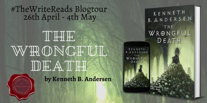 BLOG TOUR BOOK REVIEW of THE WRONGFUL DEATH by Kenneth B. Anderson #thewritereads #TWRTours