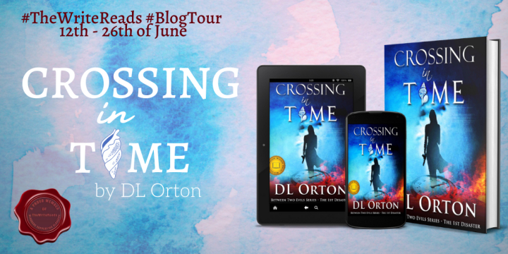 #THEWRITEREADS BLOG TOUR of CROSSING IN TIME by D.L. Orton