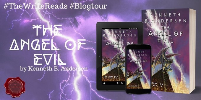 BLOG TOUR for THE ANGEL OF EVIL by Kenneth B. Anderson #thewritereads #ultimateblogtour
